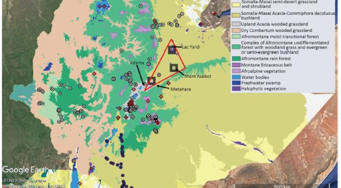 TERRAIN / FIELDWORK: Reconstruction des habitats et climats anciens dans la vallée de l'Awash