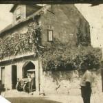 Primeira viatura mecânica na case de António Pratas