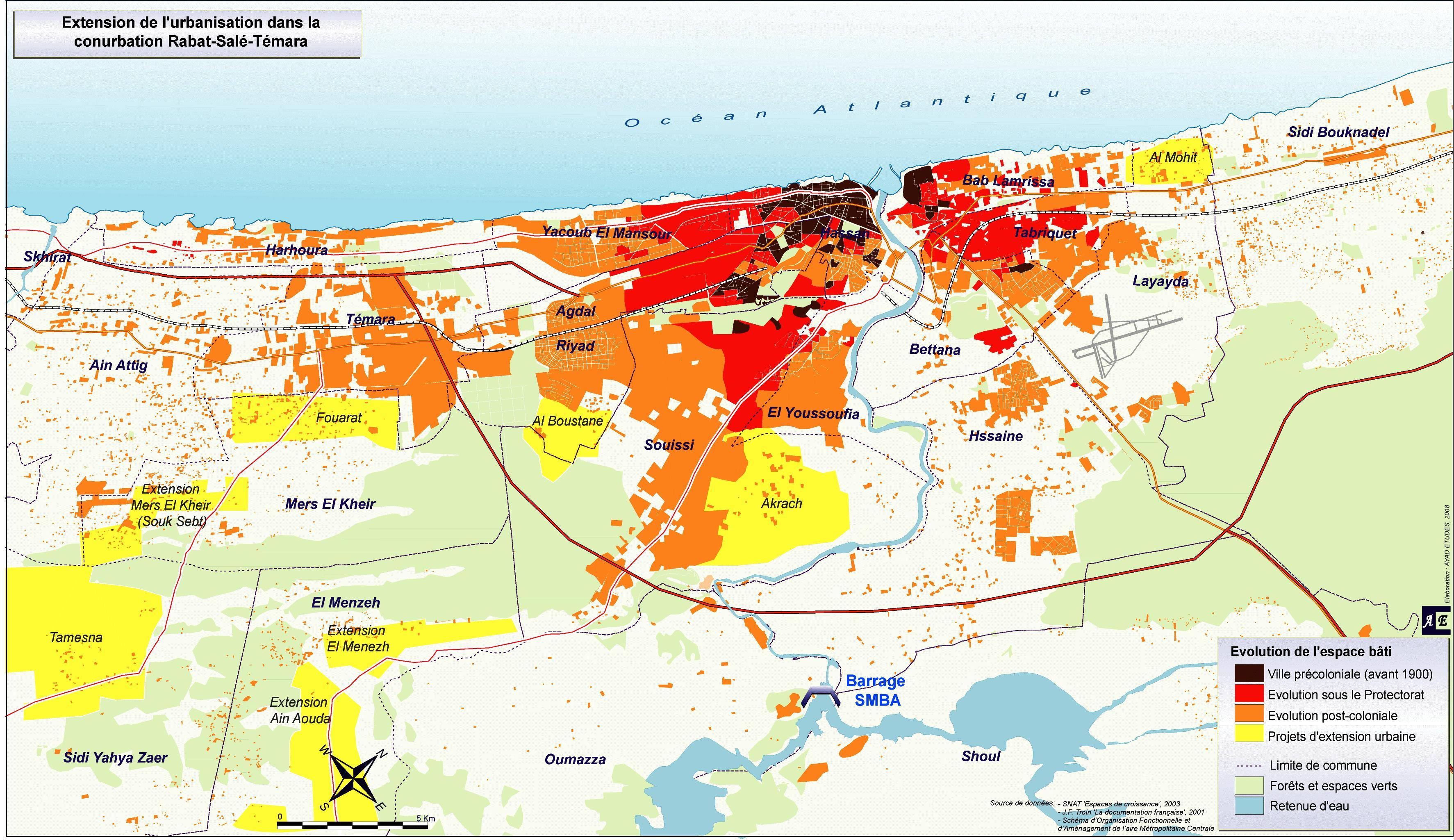 Extension de l'urbanisation
