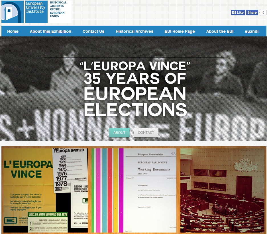 L'Europa vince – 35 Years of European elections