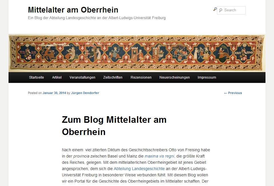 Blog Oberrhein