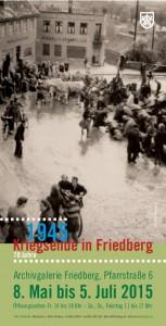 Ausstellung Kriegsende Friedberg