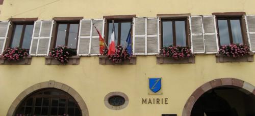 Mairie in Wolxheim (Bas-Rhin)