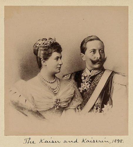 Das Kaiserpaar 1898