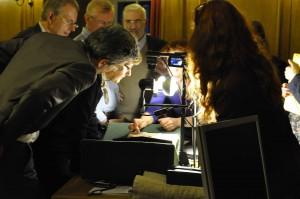 Annie Vernay-Nouri présente les manuscrits de la BnF
