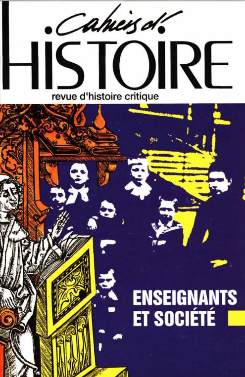 Cahier d'histoire-71-1998