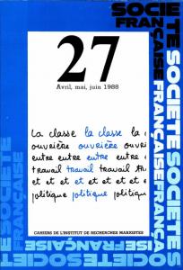 société francaise 27 1988