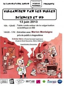 affiche sciences bd