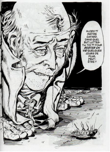 Will Eisner, A Life Force, Jacob le Cafard.