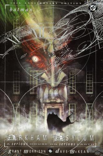 Source : Grant Morrison et David McKean, 2014, Arkham Asylum, © Urban Comics (couverture).