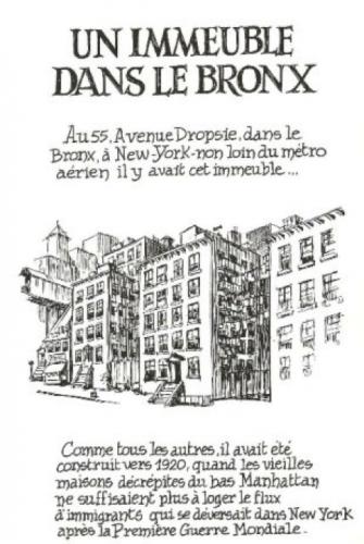 Will Eisner, Dropsie Avenue, Delcourt, 2007.