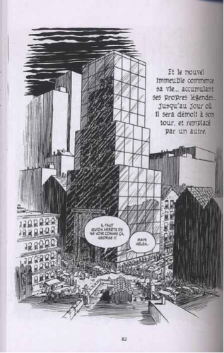 Will Eisner, L'Immeuble, New York Trilogy, tome 2, Delcourt, 2008, p. 82.