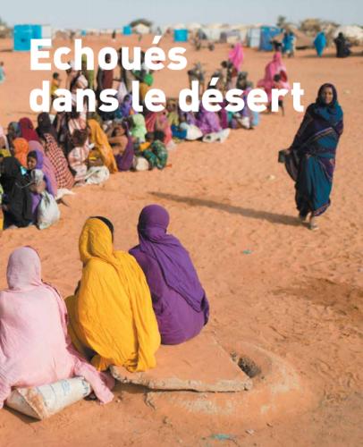 Echoués dans le désert, rapport Médecins Sans Frontières, 2013.