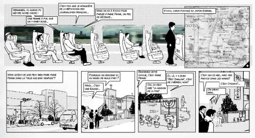 Anne Frank au pays du manga, chapitre 1, planche 6/13.