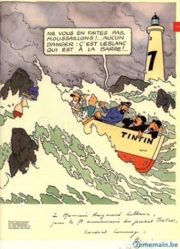 """Tintin et la mer"", Historia, HS n°1, 2014, p. 11."