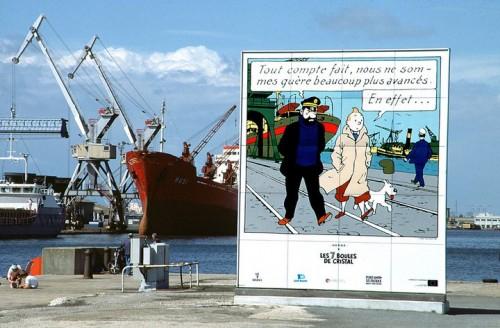 Tintin_port_Saint_Nazaire
