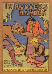 """""""En manos de ladrones"""", libro infantil de 1922"""