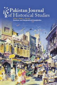 Pakistan Journal of Historical Studies