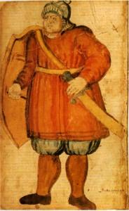 Grettir le Fort,  MS AM 426 fol. (XVIIe siècle).