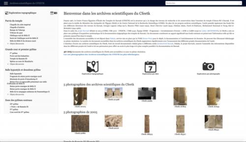 40 000 photographies en ligne sur le site des archives scientifiques du CFEETK