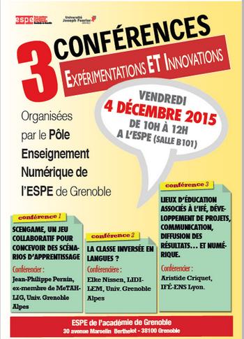 IFE - LEA - @ Affiche Conf' ESPE
