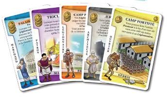 La Gloire de Rome (2011, Carl Chudyk, illustrations Igor Wolski, Lookout Games, Cambridge Games Factory via Asmodée)