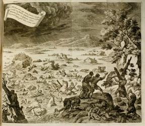 Flut - Johannes Zahn 1696