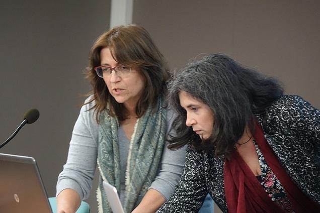 Laure TEULIÈRES et Mireille LÊ VAN VÔ DdM