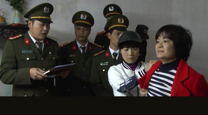 Nhà hoạt động Trần Thị Nga bị bắt [Arrestation de Tran Thi Nga, activiste sociale]