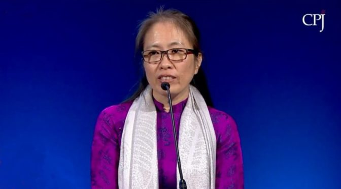 International Press Freedom Awards: Nguyen Ngoc Nhu Quynh, Vietnam