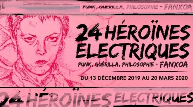 Exposition : FanXoa «24 héroïnes électriques» – ENS de Lyon / Artemisia