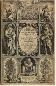 John Gerard's herbal (1633)