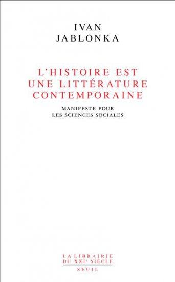 L'Histoire est une littérature