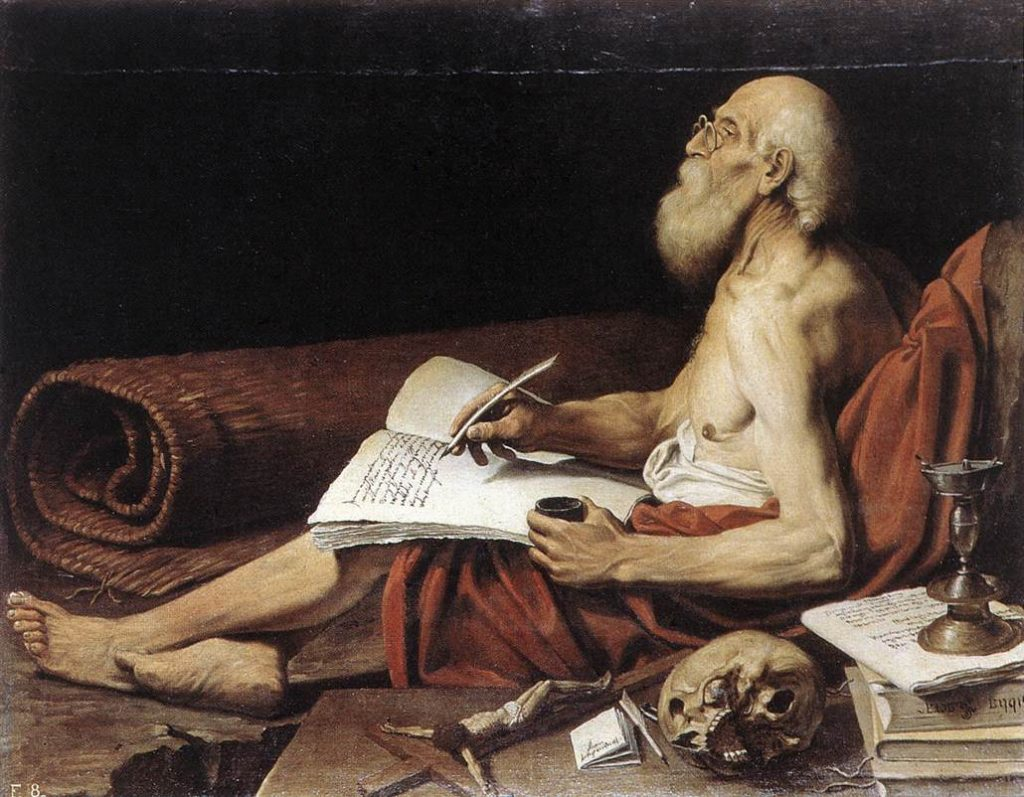 Saint Jérôme, patron des traducteurs. Khalil Suwayleh pourrait se reconnaître !
