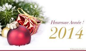 Meilleurs Voeux pour 2014!