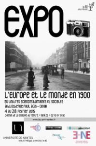Exposition » l'Europe et le monde en 1900″ à la BU Lettres et Sciences Humaines de l'Université de Nantes à partir du 4 février 2015