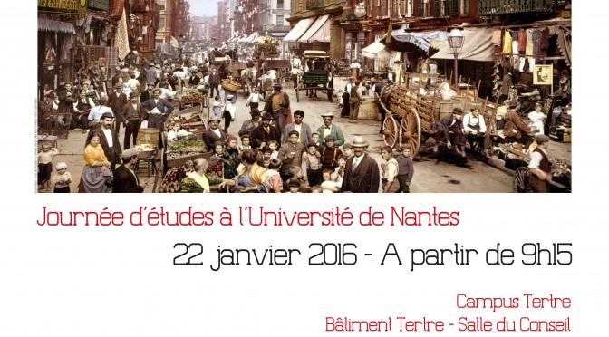 Journée d'études «Mobilités Nord / Sud :  une perspective globale»