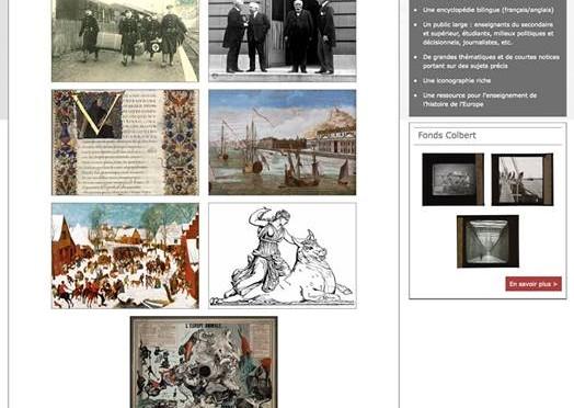 Mise en ligne de l'Encyclopédie pour une Histoire Nouvelle de l'Europe le 11 janvier 2016