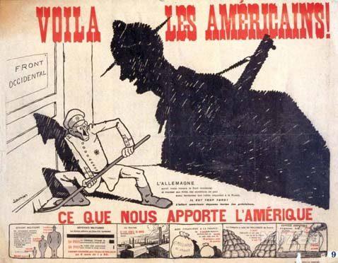 Appel à communications : «Voilà les Américains !»  Les Etats-Unis en France et en Europe, 1917-1920 : circulations et diffusion des idées et des savoirs