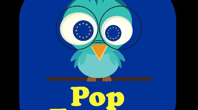 L'application Pop'Europe est en ligne!