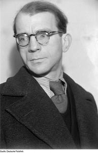 L'historien Günther Weisenborn en 1946