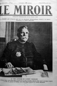 Le Miroir, numéro du 9 août 1914. Ou comment raconter la guerre par le haut.