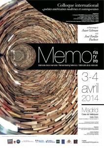affiche Mémoire de la mémoire (VFinale)