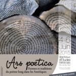 """Ars poetica"", 4-6 juin 2015"