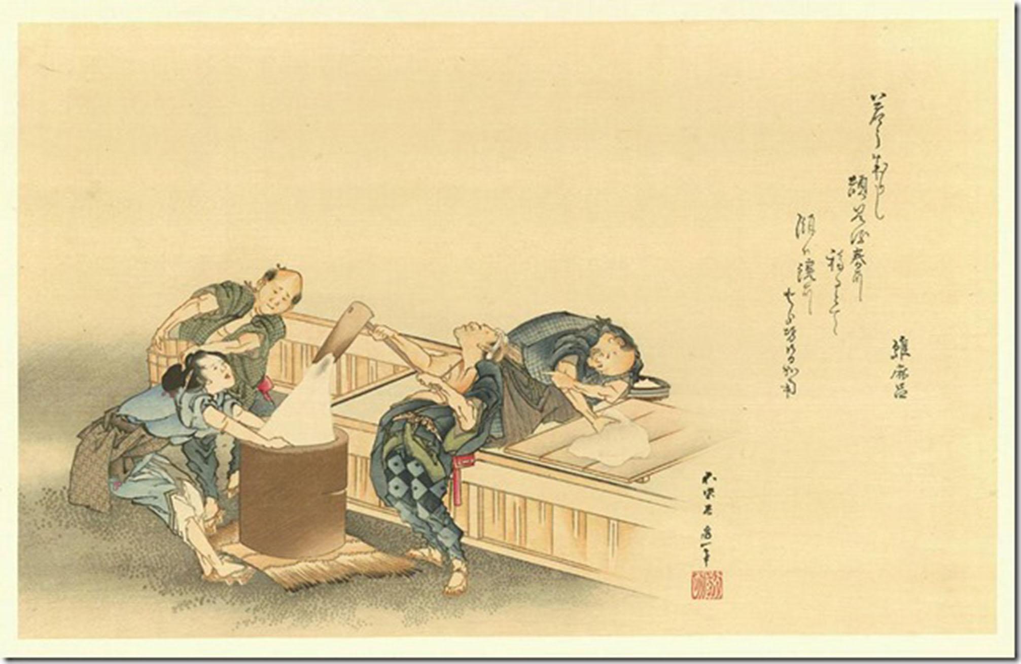 hokusai mochitsuki