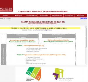 UCLM Máster en Humanidades Digitales  MHD   IV ed