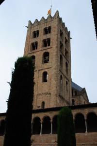 Clocher de l'église de Saint-Michel-de-Cuxa.