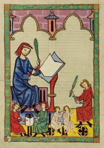 424px-Codex_Manesse_Schulmeister_von_Esslingen-212x300