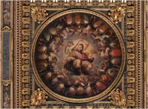 Giorgio Vasari, Apothéose de Cosme Ier, vers 1565, Sala del Cinquecento, Palazzo Vecchio (© Google Art Project)