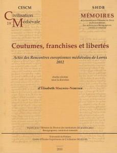 coutume franchises & libertés Lorris